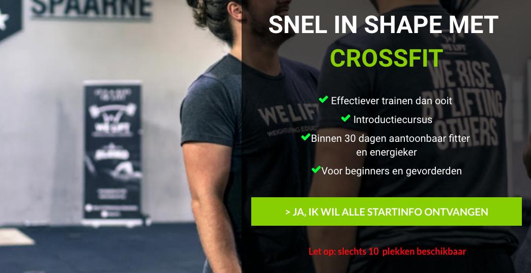 Snel in Shape met CrossFit